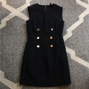 Rachel Zoe black sleeveless work dress size 4